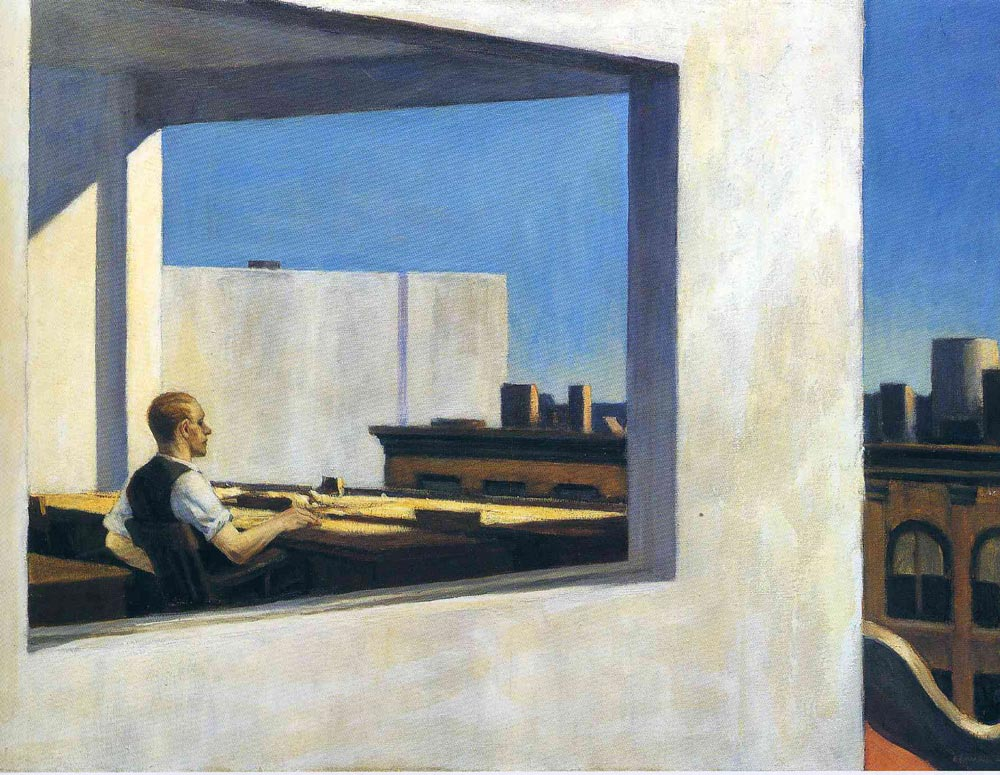 Office-in-a-Small-City-by-Edward-Hopper